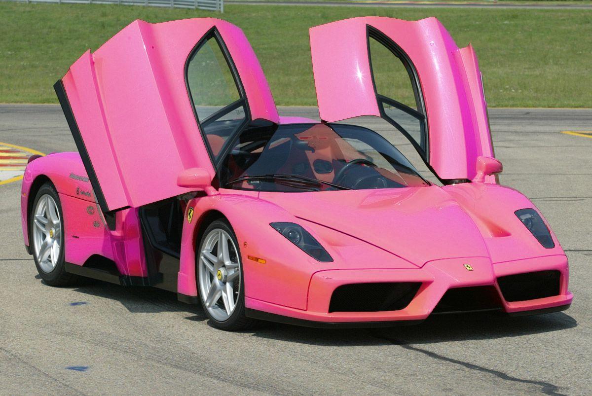 Light Pink Ferrari