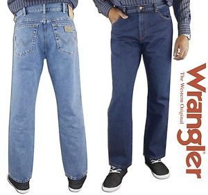 "Item specifics Condition:	 New with tags: A brand-new, unused, unworn and undamaged item in the original packaging  Brand:	Wrangler Fit:	Regular	Material:	Cotton Exact Material:	100% Cotton	Style:	W12105096, W12105009 Leg:	Straight Leg	Inside Leg:	30"" (Short), 32"" (Regular) & 34"" (Long) Pockets:	5 Pockets all together	Fly:	Zip Fly EAN:	5055875767034"