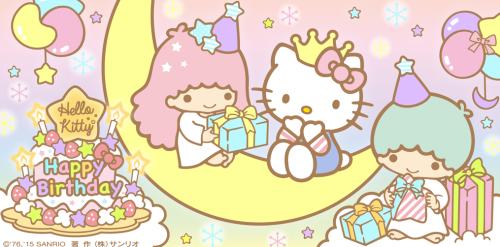 Sanrio: Little Twin Stars with Hello Kitty:)