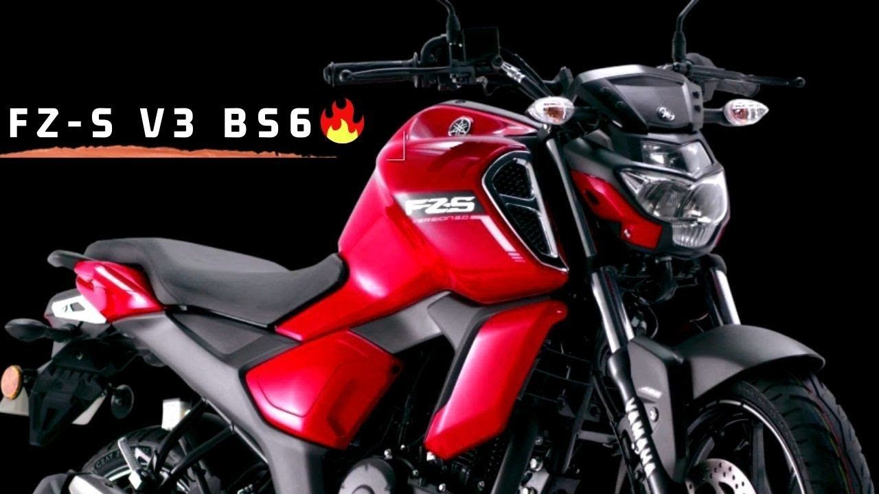 Finally Yamaha Fz S V3 Bs6 Model Launched In India Price