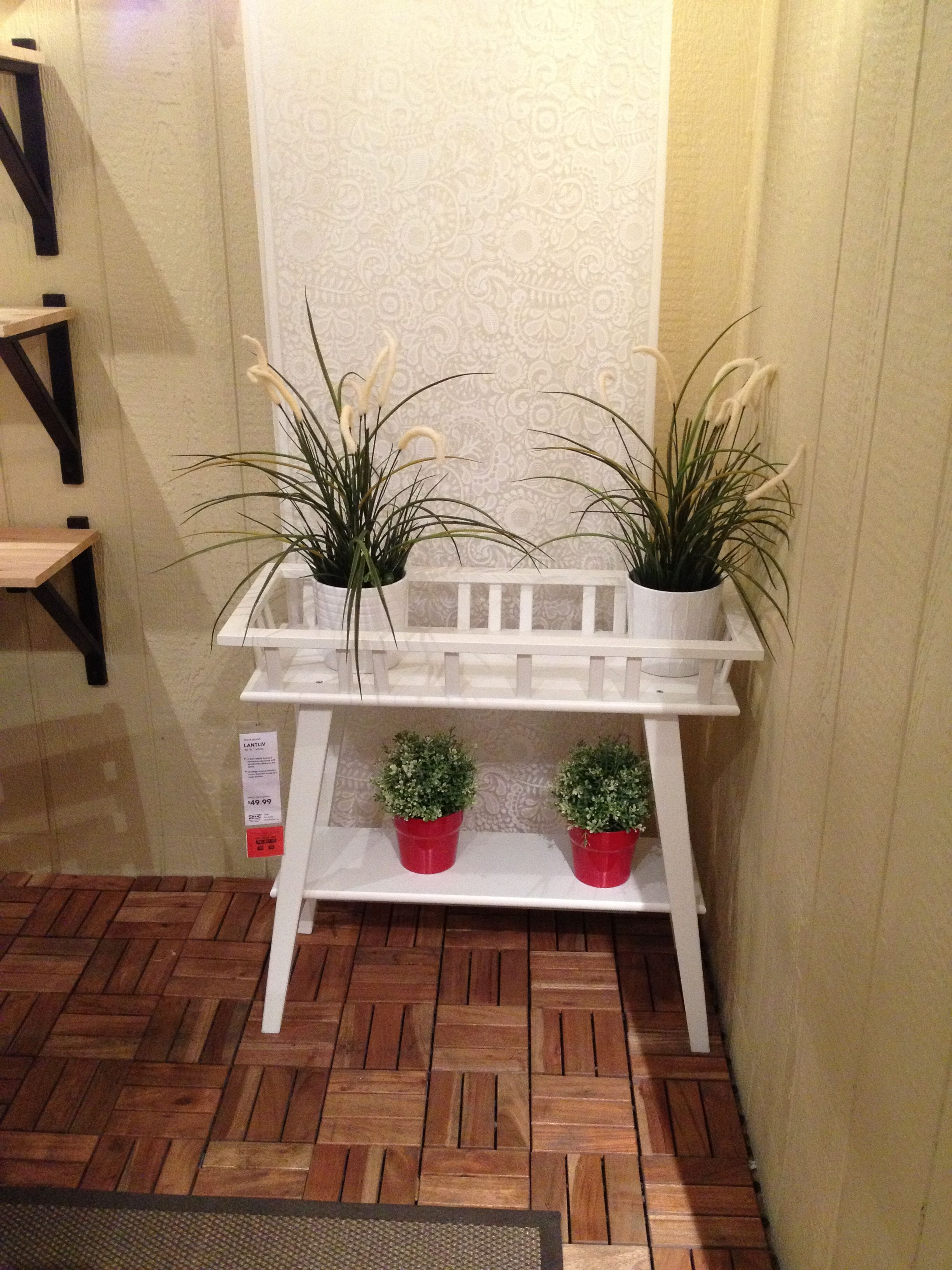 Ikea plant rack