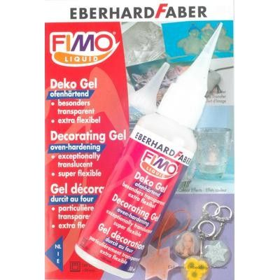 Eberhard Faber Fimo Liquid Decorating Gel For Polymer By Selene