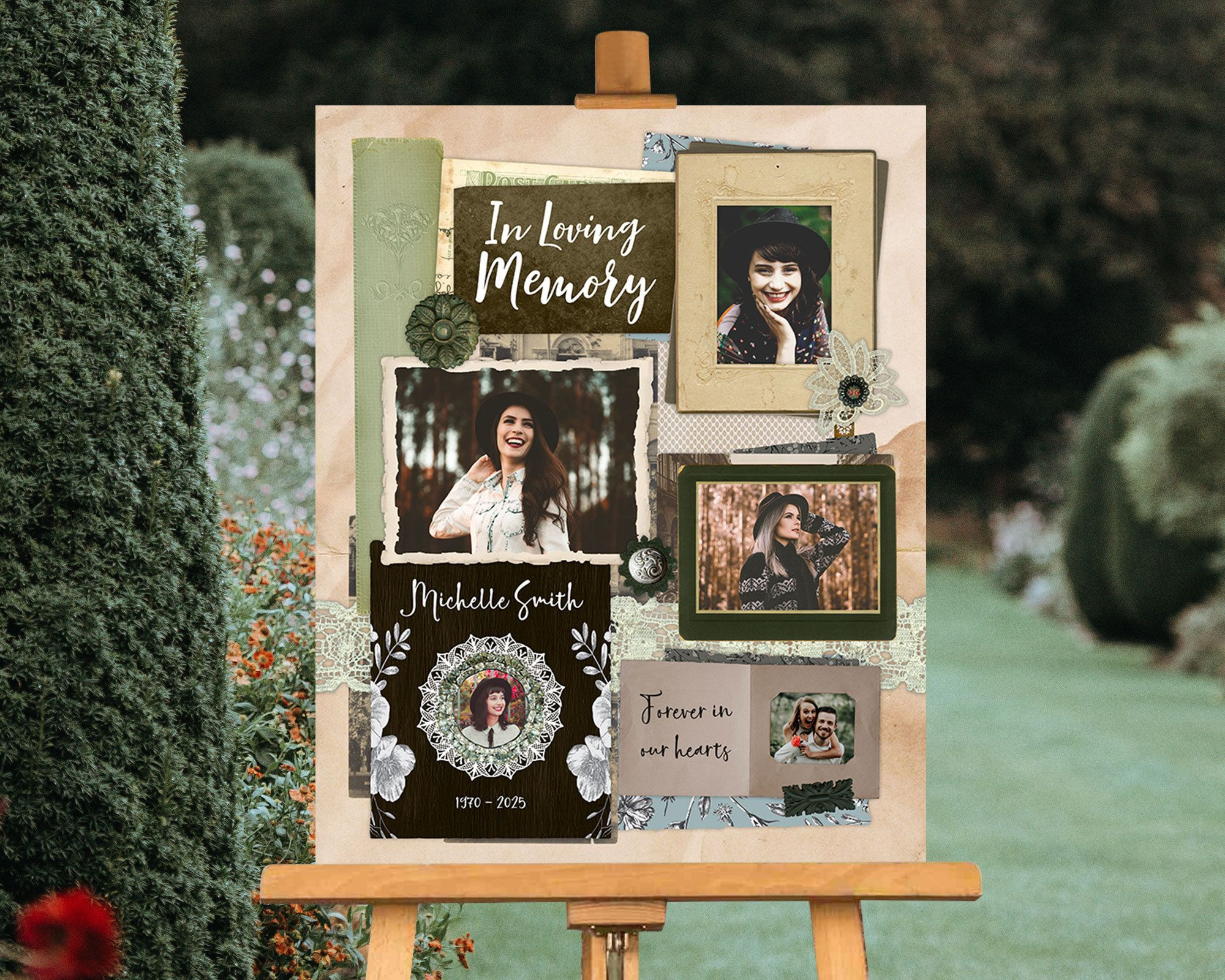 funeral posters funeral guest book