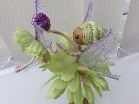 Flower Fairy Doll mother and child