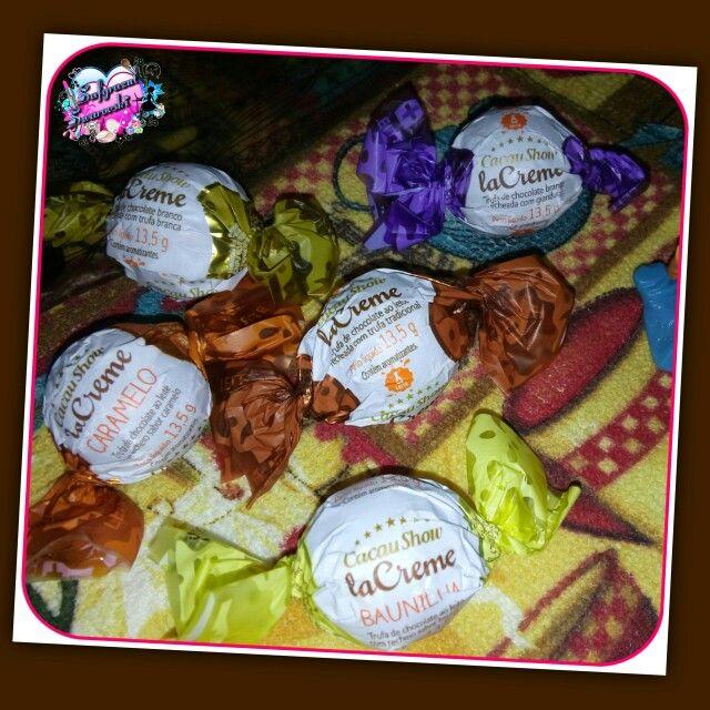 www.cacaushow.com.br Cacau Show eu amo muito, a trufa de chocolate branco recheada com Gianduia é meu preferido