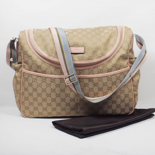 Gucci Diaper Bag Adorable but Prada baby bag is more worth the investment  as it can