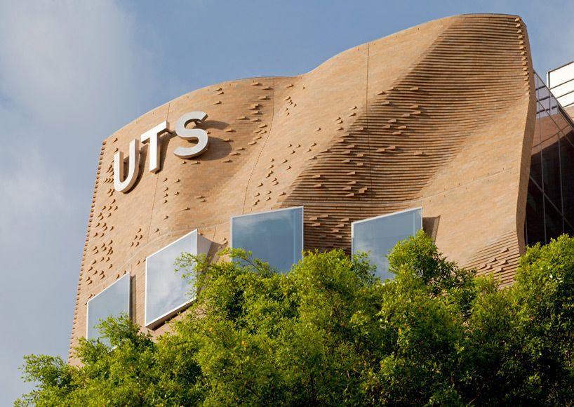 frank gehry UTS sydney business school designboom