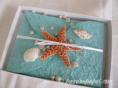 Unique Beach Wedding Invitations | The Wedding Specialists ...