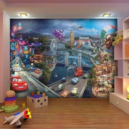 Disney Cars 2 Wallpaper Great Kidsbedrooms Ltd Wallpaper Disney Cars Bedroom Kids Wallpaper