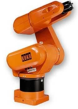 The Kuka KR3 is a six-axis robot designed for ligh payload