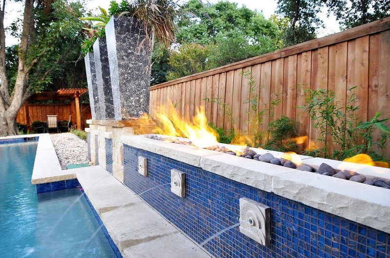 Water and fire make an impressive combo with this water