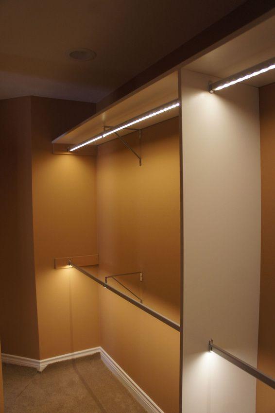 Led Closet Lighting Closet Lighting Closet Rod Closet Bedroom
