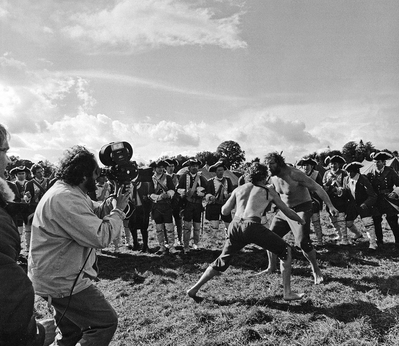 Stanley #Kubrick Operating A Camera And Shooting A Fight