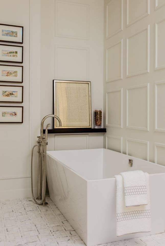 Photo of 50 Indulgent Bathrooms with Freestanding Tubs – Chairish Blog