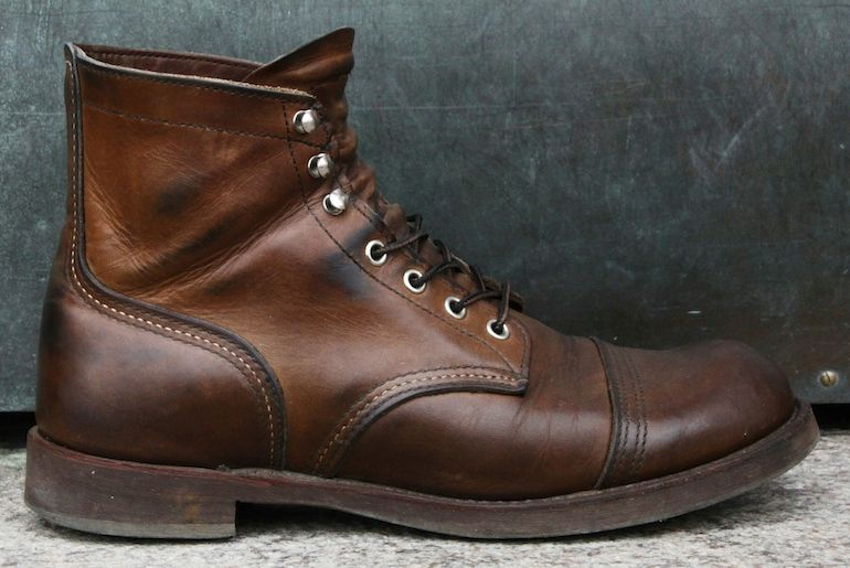 93afb03660c Fade of the Day - Red Wing 8111 Iron Ranger (3 Years) | | STYLE ...