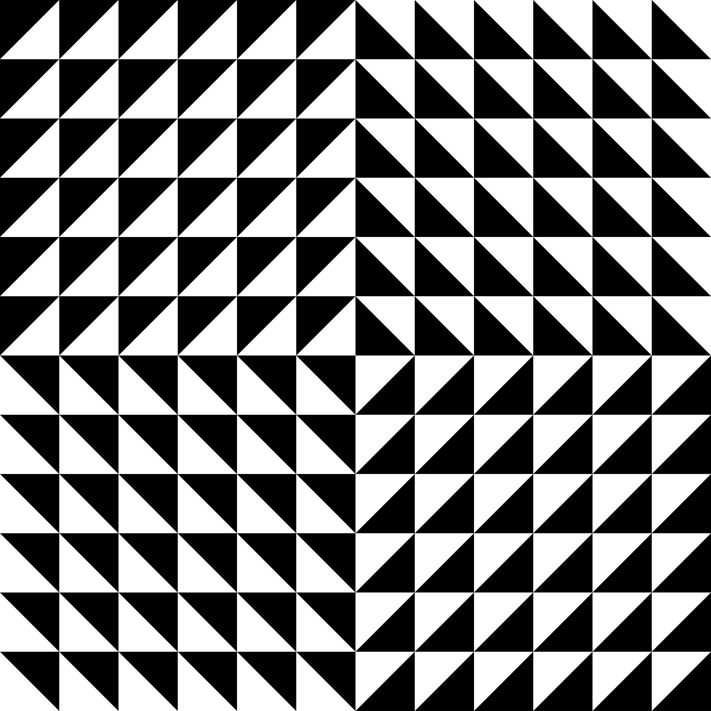 Right Triangle Tesselation Mix By 10binary Right Triangle Triangle Beautiful Rangoli Designs