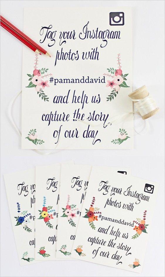 Top 10 Free Wedding Printables Part II