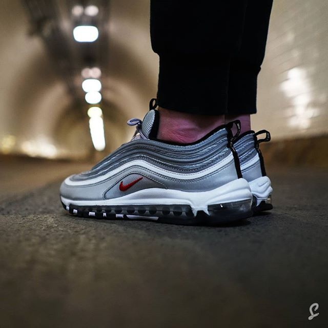 The Nike Air Max 97 -Silver Bullet by @thesolesupplier #thesolesupplier  *Watch our