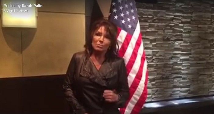 Only Bernie or bust will heed this call  Sarah Palin Wants 'Smart' Democrats to Unite Behind Trump