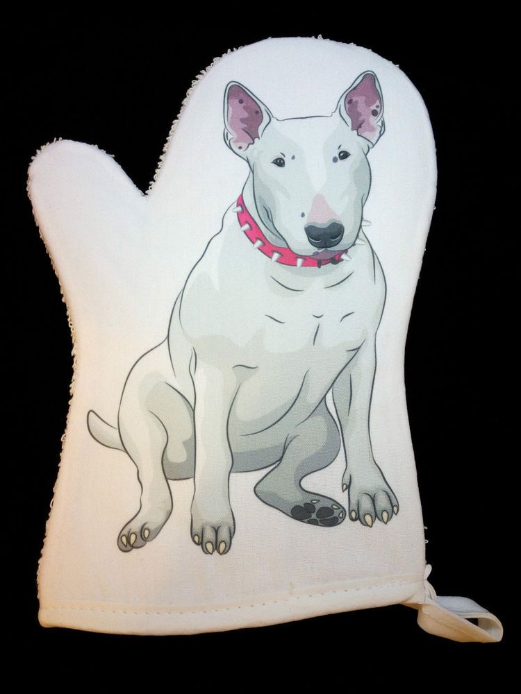 English Bull Terrier Oven Mitt