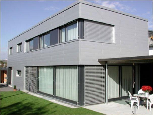 Metal Facade Cladding Aluminium Siding Prefa Aluminiumprodukte Metallfassade Fassadengestaltung Hausverkleidung