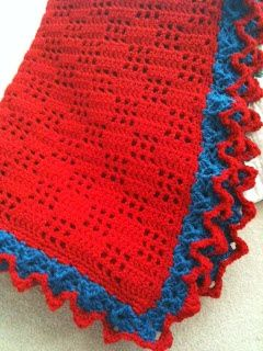One Yarn After Another: Free Pattern for Austyn's blanket.