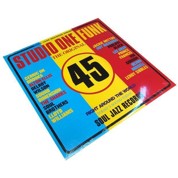 Soul Jazz: Studio One Funk Vinyl 2LP