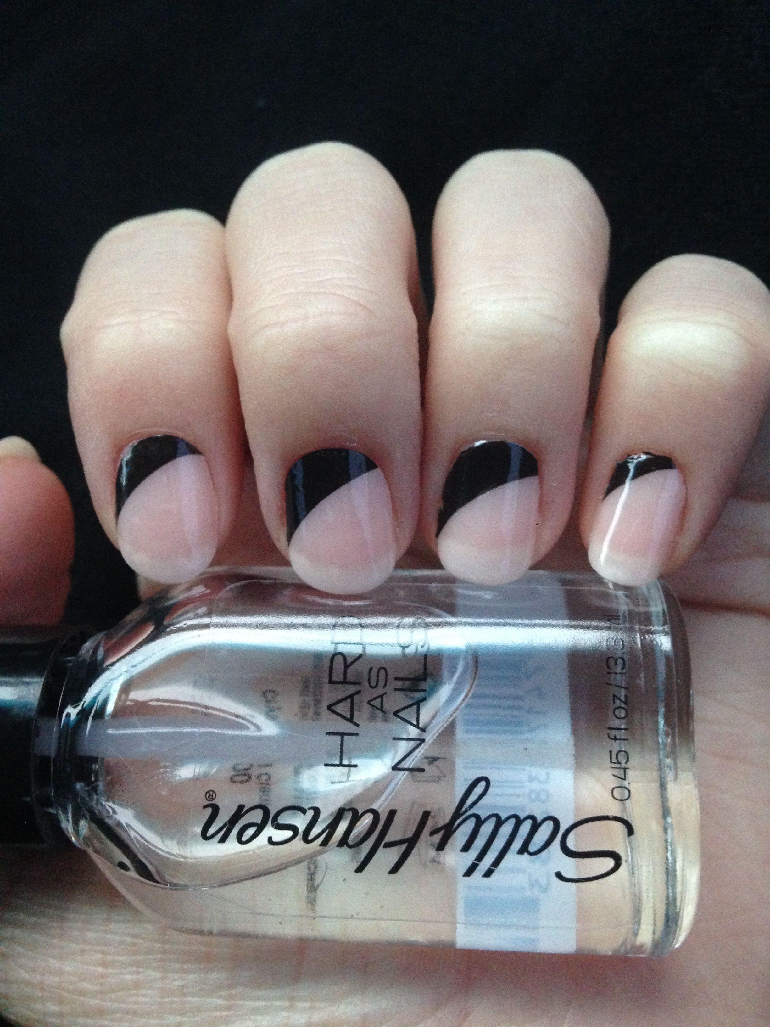 DIY manicure Sally Hansen Salon Effects Real Nail Polish Strips in ...