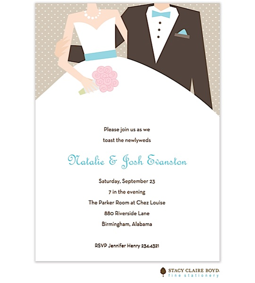 After The Wedding Party Invitations Or Elopement Party Invitations - Party invitation template: elopement party invitation template