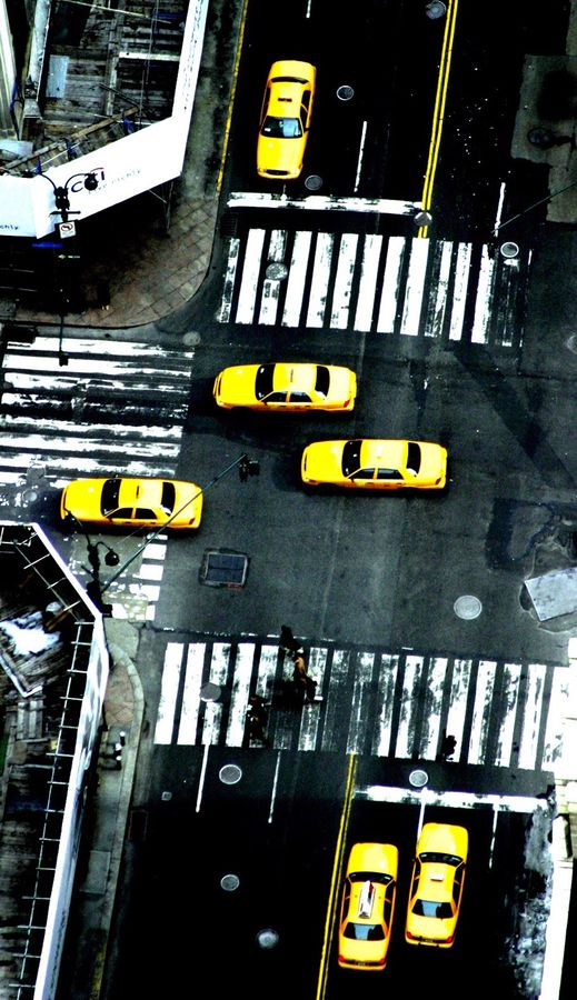Photograph Yellow Cabs by Christopher Etchells on 500px