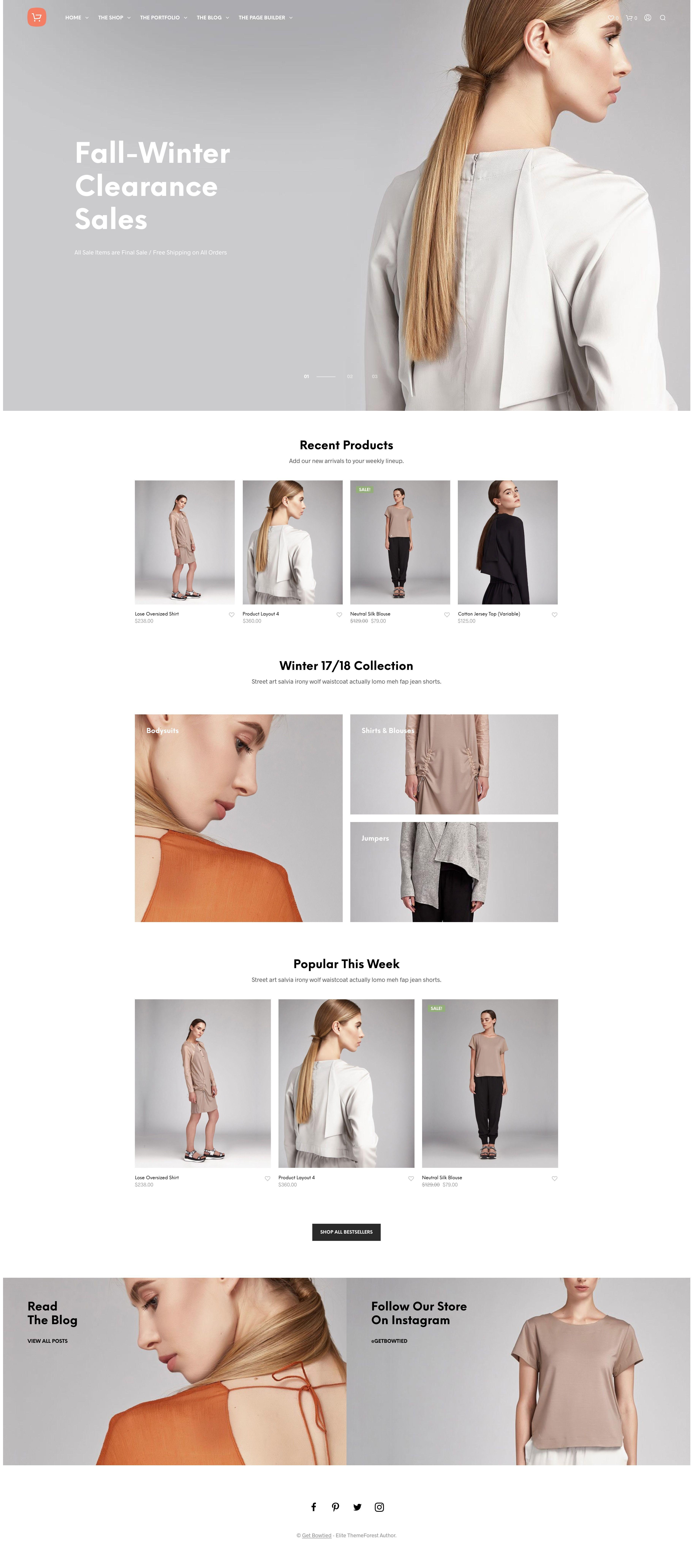 Shopkeeper Ecommerce Wordpress Theme For Woocommerce Fashion Website Design Ecommerce Website Design Fashion Web Design