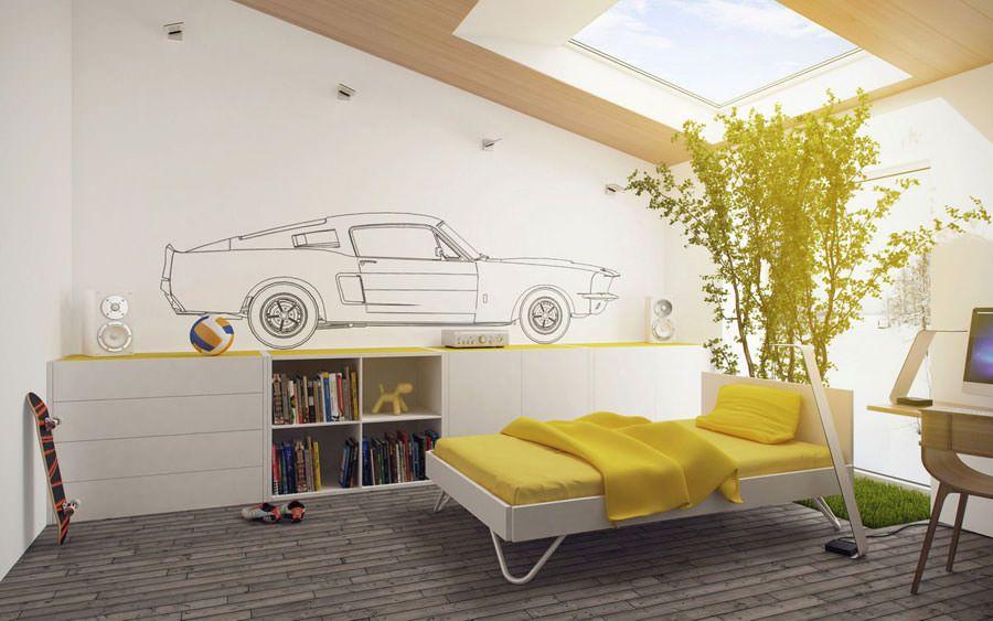 Camere Bambini Moderne : Camerette per ragazzi moderne e sofisticate camera noemi