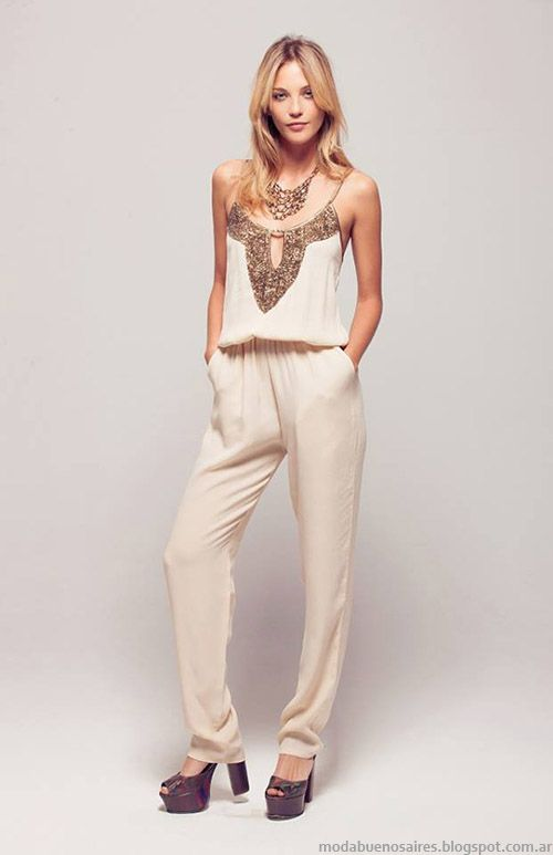 f2eab2dffe7 Moda monitos 2015 primavera verano Silvina Ledesma moda. Vestidos De Fiesta  Verano