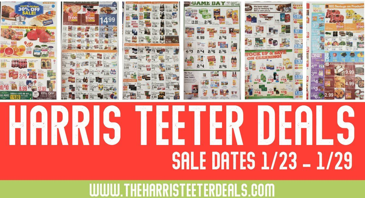 Harris teeter deals weekly matchups ad scan 123 129