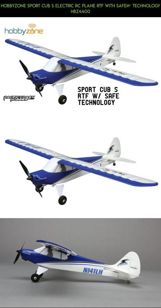 HobbyZone Sport Cub S Electric RC Plane RTF with SAFE® Technology
