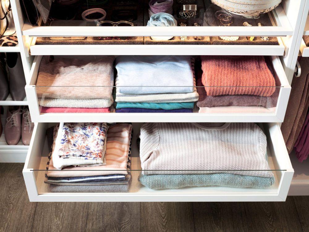Ordnung Im Schlafzimmer Und Kleiderschrank Mit Ikea Pax