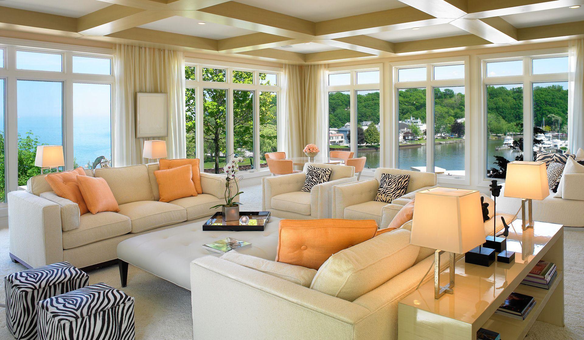 Beautiful home interiors beautiful homes interior  orange the new trendy color  pinterest