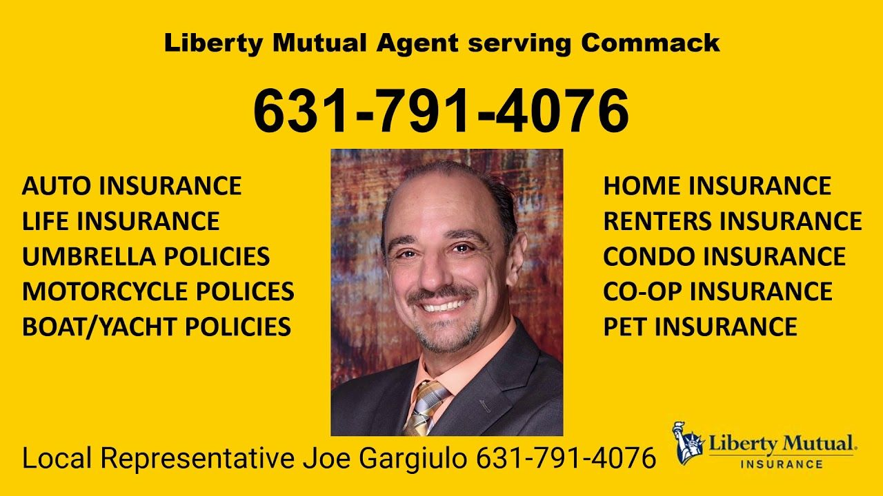 Liberty Mutual Commack Agent 631 791 4076 In 2020 With Images