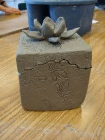 Image Result For Clay Slab Box Animals Pottery