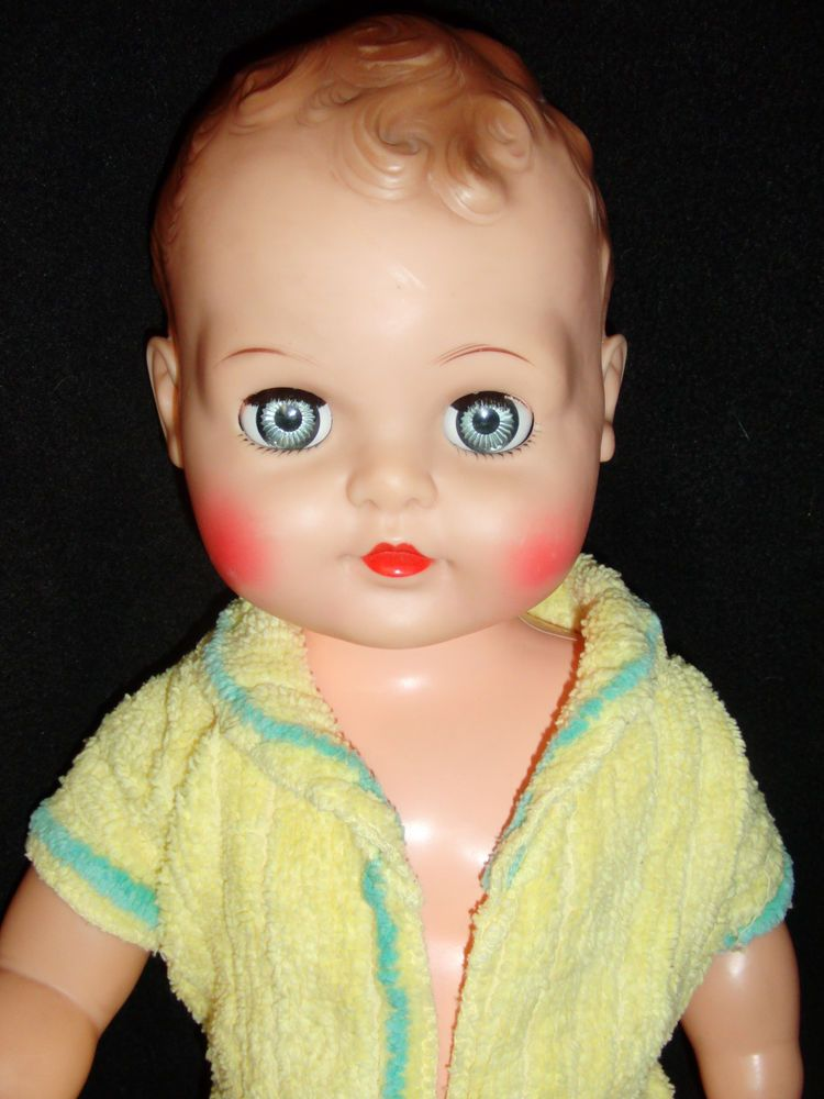 Vintage 1959 Quot Baby Coos Quot Doll By Ideal All Vinyl 21