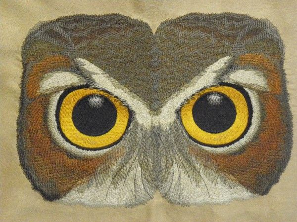 Owl Eyes - Embroidery Library