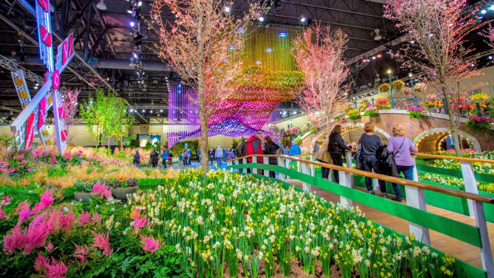The PHS Philadelphia Flower Show Information Visit