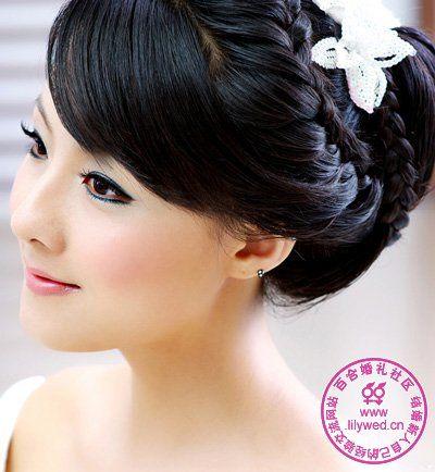 Asian Korean Chinese Japanese Etc Wedding Hairstyles Makeup Pics