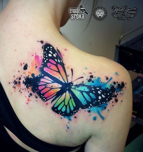 Photo of 15 Watercolor Tattoos For Females – Pretty Designs