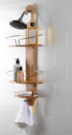 Eco Friendly Bamboo Shower Caddy Bamboo Shower Caddy Shower Rack Shower Caddy