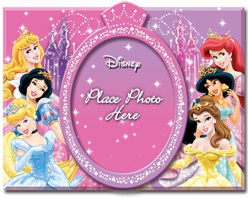 Girls Disney My First Year Photo Frame Pink New