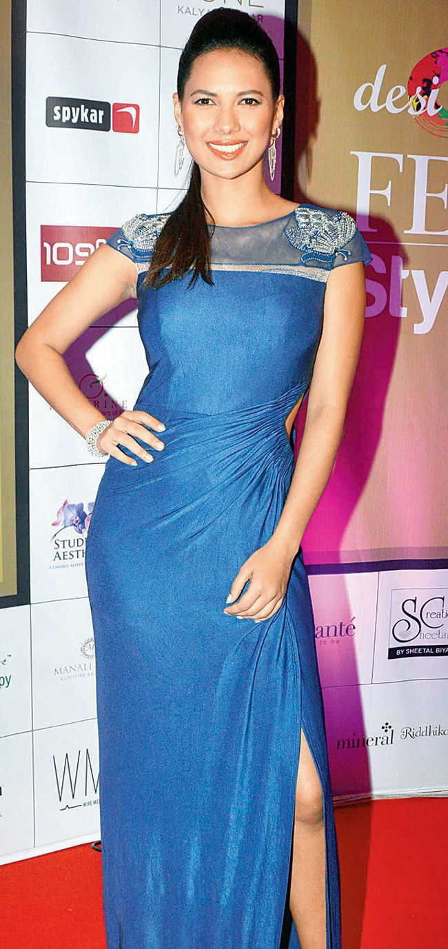 Rochelle Maria Rao at the 'Femina Style Diva 2014'. #Bollywood #Fashion #Style #Beauty #Page3