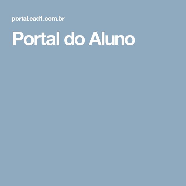 Portal do Aluno