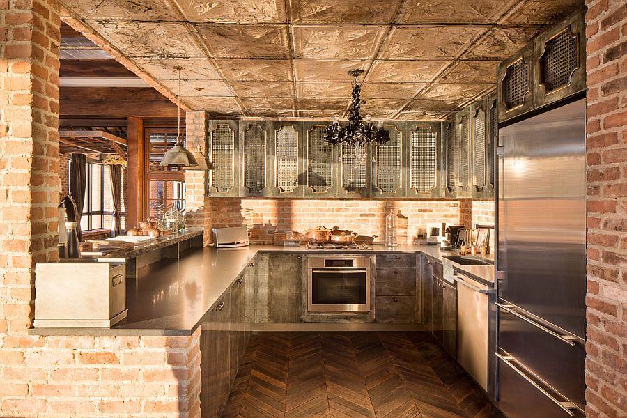 30 Foto di Cucine in Muratura Moderne   MondoDesign.it   Idee Casa ...