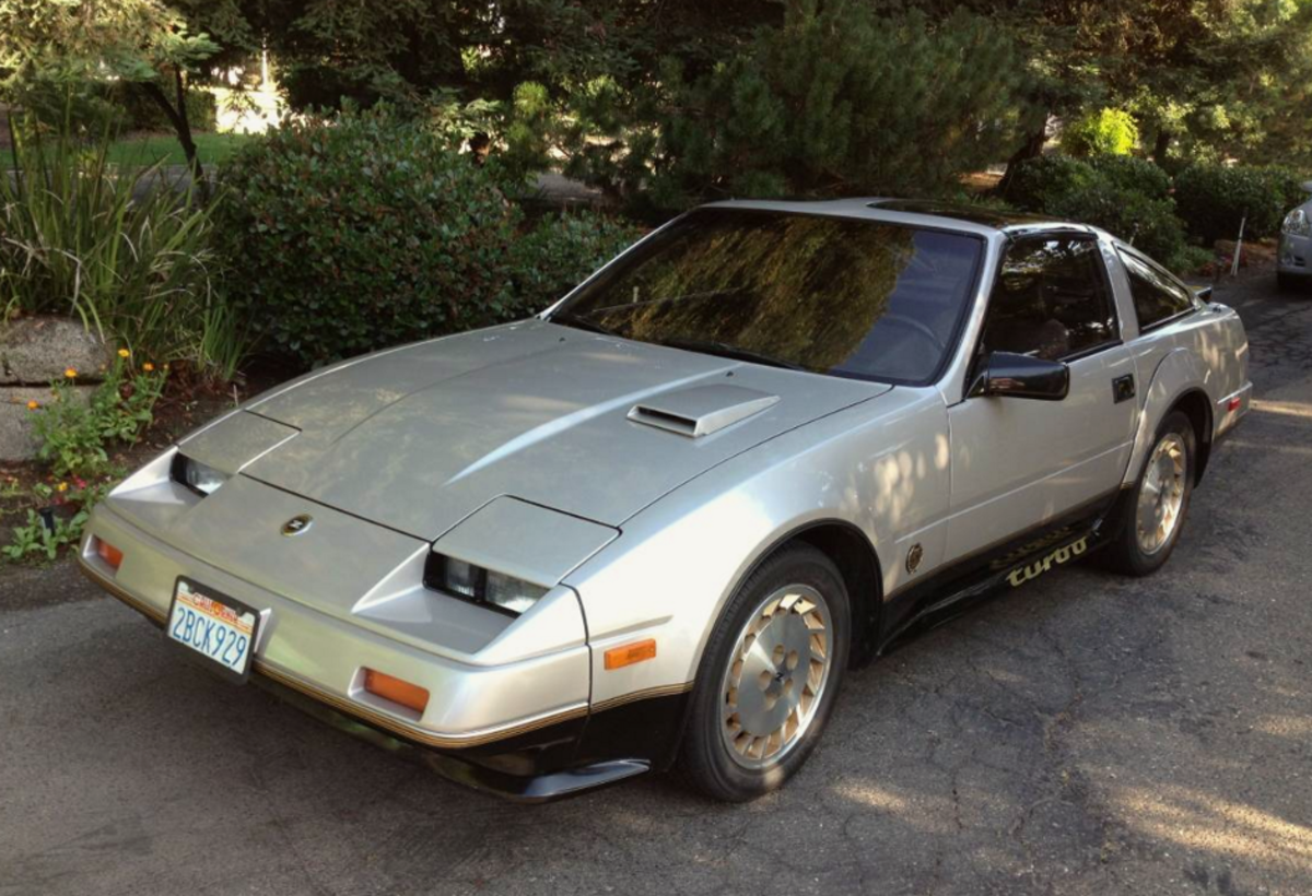 Time For Throwbackthursday With A 1984 Nissan 300zx Turbo Tbt Nissan 300zx Nissan 300zx Turbo Nissan